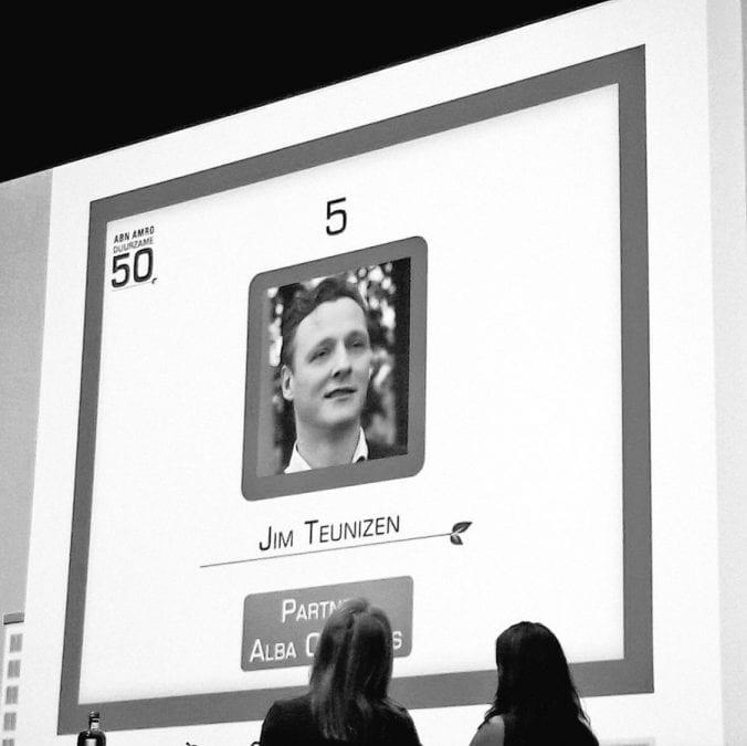 Fantastische vijfde plek voor Jim in ABNAMRO Duurzame 50