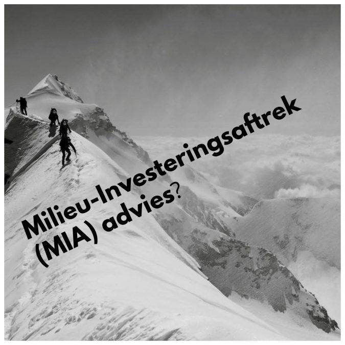 Milieu-Investeringsaftrek advies?